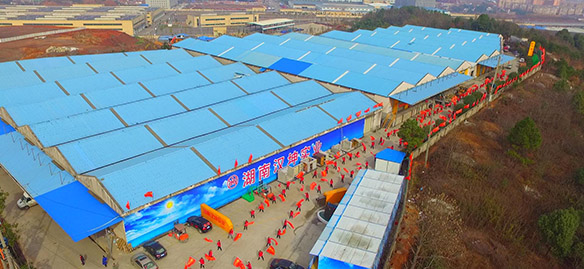 汉坤实业3号基地实景图
