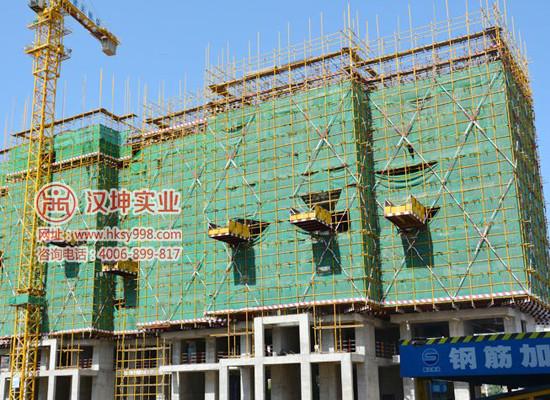 【湖南】顺天建设在汉坤实业采购大批落地式卸料平台 厂家直销
