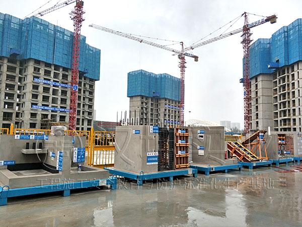 工法质量样板 工地水电工艺展示 汉坤实业 整齐美观