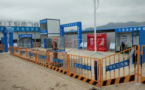 广州建筑施工安全体验馆 工地安全体验区价格