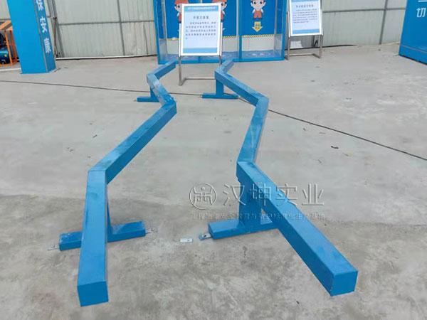 云南施工安全体验区,平衡木体验
